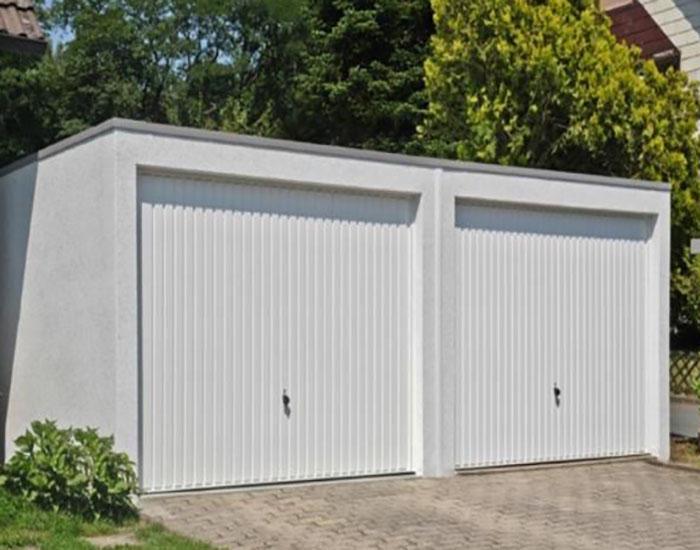 Garage nach der Renovierung